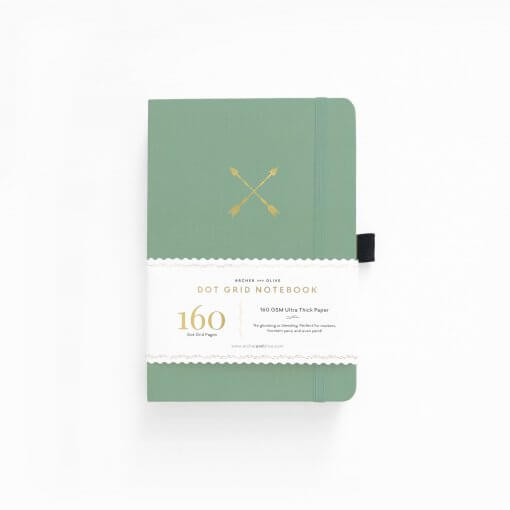 Archer and Olive Notitieboek Dot Grid - Twin Arrows
