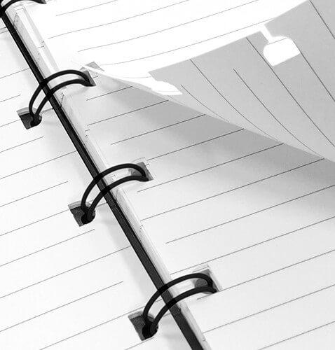Filofax The Original A5 Notebook Folio Zwart 3