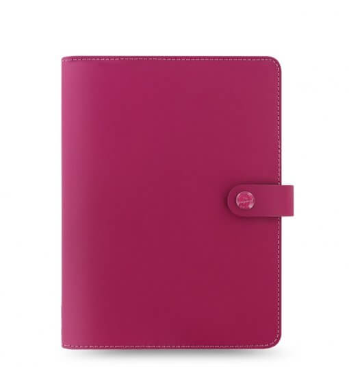 Filofax The Original A5 Notebook Folio Raspberry