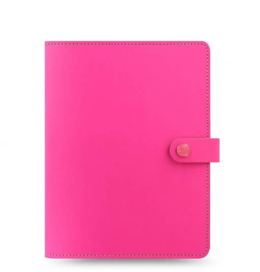 Filofax The Original A5 Notebook Folio Fluor Pink