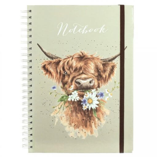 Wrendale Notitieboek A4 Daisy Coo 1