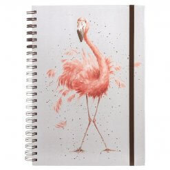 Wrendale Notitieboek A4 Pretty in Pink
