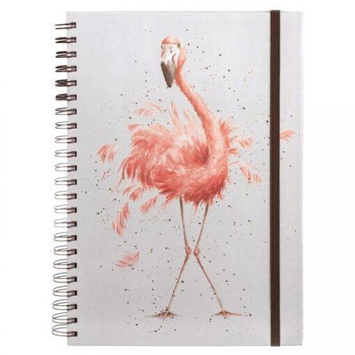 Wrendale Notitieboek A4 Pretty in Pink