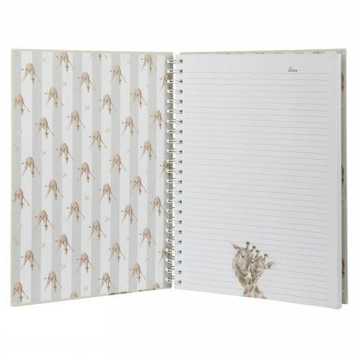 Wrendale Notitieboek A4 Flowers 1