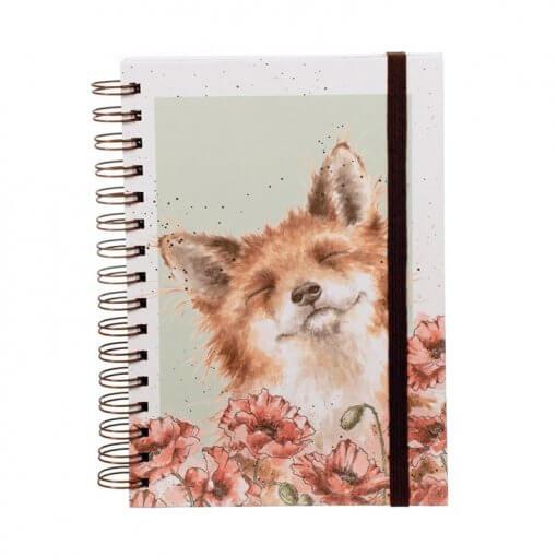 Wrendale Notitieboek A5 Poppy Fields