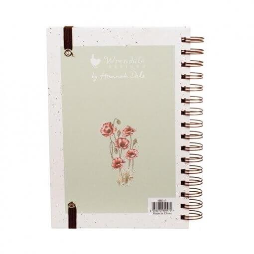 Wrendale Notitieboek A5 Poppy Fields 1