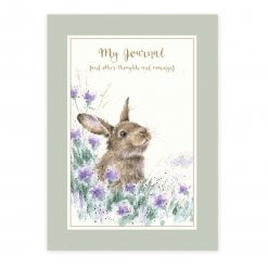 Wrendale Rabbit Gratitude Journal