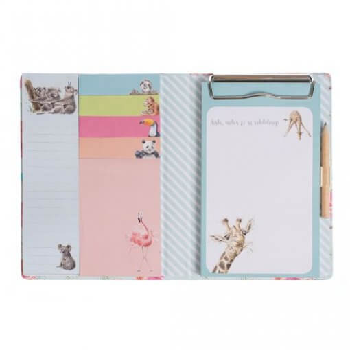Wrendale Zoology Sticky Note Book