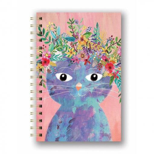 Notitieboek spiraal Fancy Cat