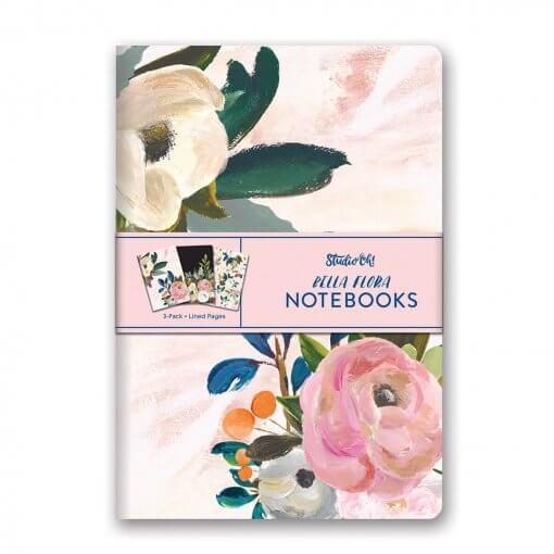Studio oh Notitieboekjes trio Bella Flora
