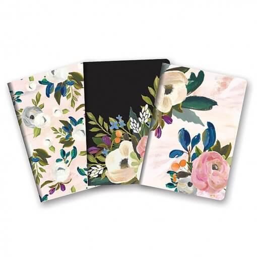 Studio oh Notitieboekjes trio Bella Flora 1
