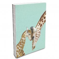 Studio oh Notebook Giraffe Love