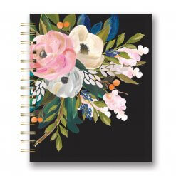 Studio oh Spiraal medium Bella Flora Black