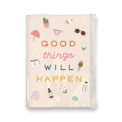 Studio oh Pouch Journal Good Things Will Happen