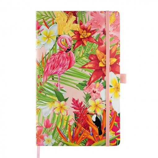 Castelli notitieboek Flamingo