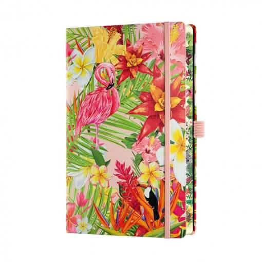 Castelli notitieboek Flamingo zijkant