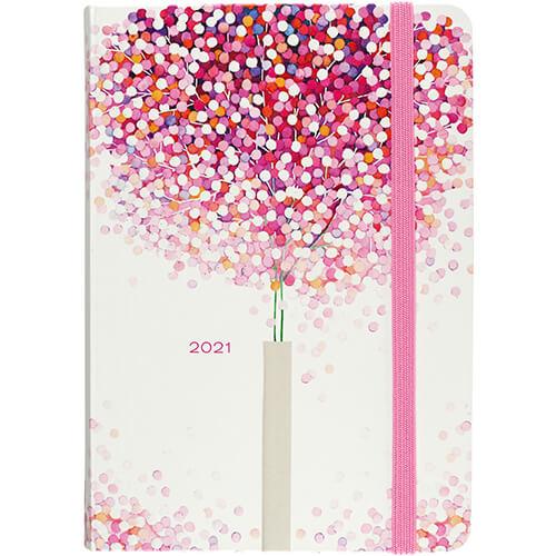 Peter Pauper Agenda 2021 Lollipop Tree