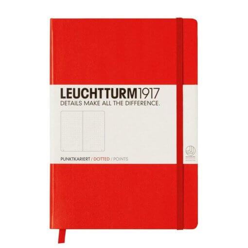 Bullet journal notitieboek Leuchtturm1917 Rood