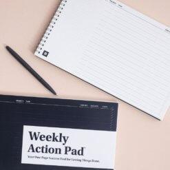 Best Self Weekly Action Pad