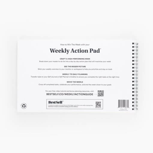 Best Self Weekly Action Pad