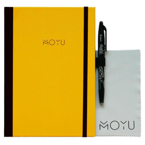 MOYU notitieboek A5 premium geel
