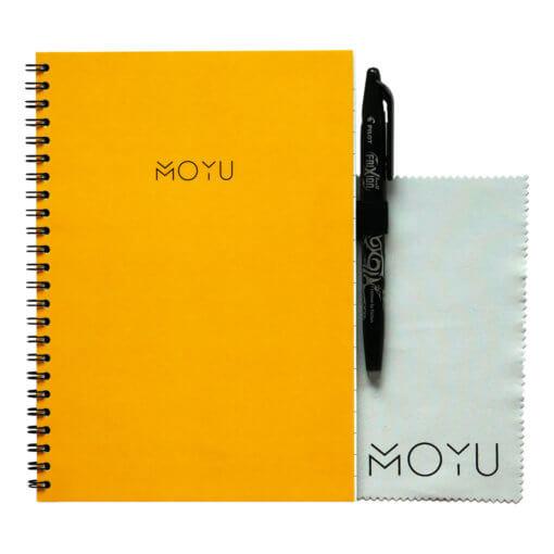 MOYU notitieboek A5 ringband geel