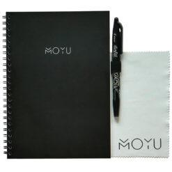 MOYU ringband notitieboek A5 black