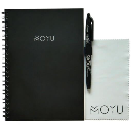 MOYU notitieboek A5 ringband zwart