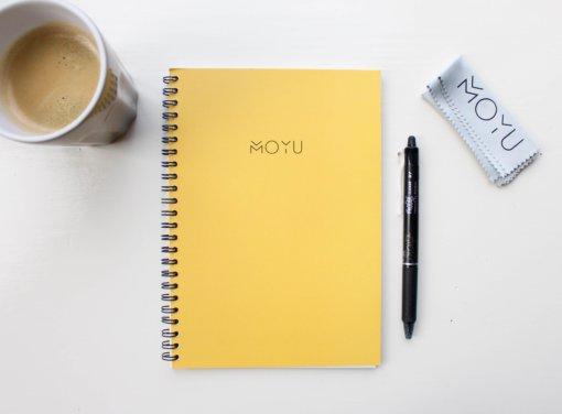 MOYU ringband notitieboek A5 Young Yellow