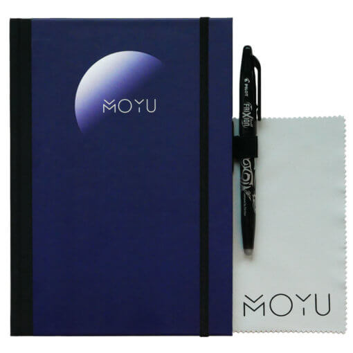 MOYU notitieboek A5 premium blauw