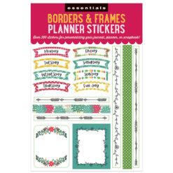 Peter Pauper Borders & Frames Planner Stickers