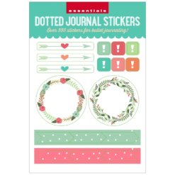 Peter Pauper Dotted Journal Planner Stickers voorkant