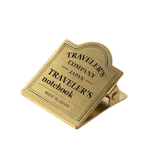 Midori Traveler's Notebook Brass Clip