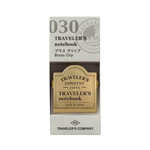 Midori Traveler's Notebook Brass Clip 1jpg