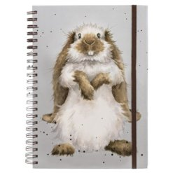 Wrendale Notitieboek A4 Earisistible Rabbit