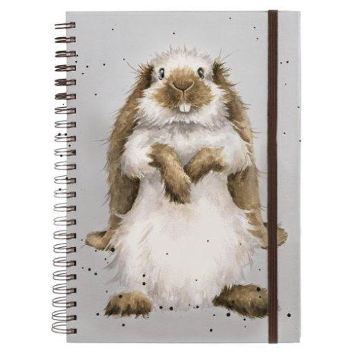 Wrendale Notitieboek A4 Earisistible Rabbit