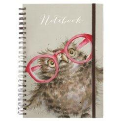 Wrendale Notitieboek A4 Spectacular Owl