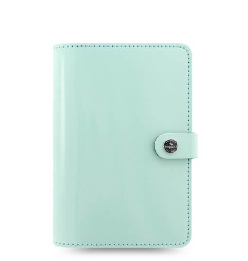 Filofax Organizer The original Patent Duck Egg personal