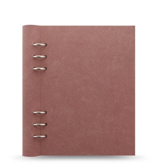 Filofax Clipbook Architexture A5 Notebook terracotta