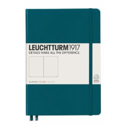 Leuchtturm1917 Blanco notitieboek Pacific Green