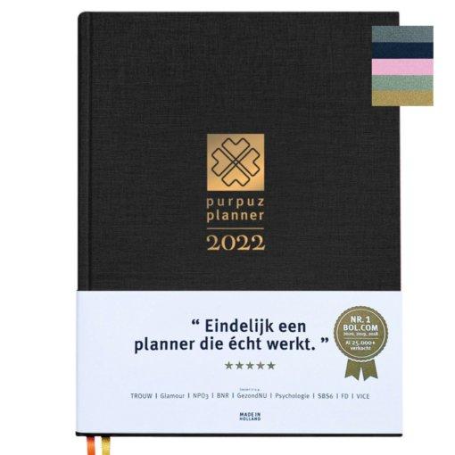 Purpuz planner 2022 Zwart