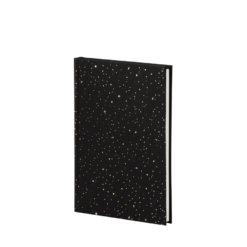 Rossler Bullet Journal Sparkles Zwart:Goud A5+