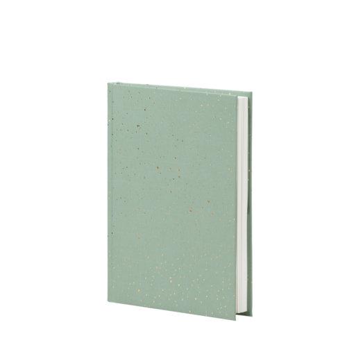 Rossler Notitieboek Sparkles Groen:Goud A5+