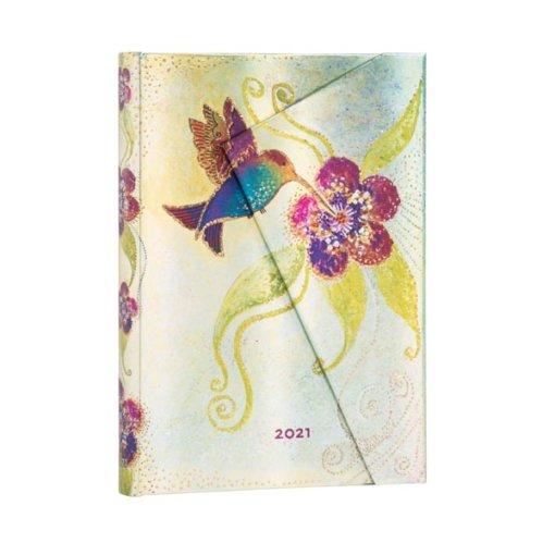 Paperblanks Agenda 2021 hummingbird Midi