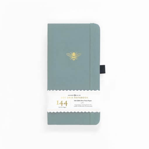 Archer and Olive Traveler's Notebook Dot Grid - Vintage Bee