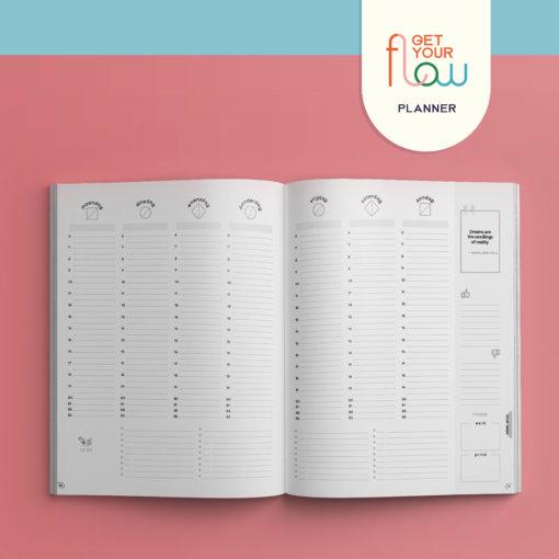 Get Your Flow Planner 1