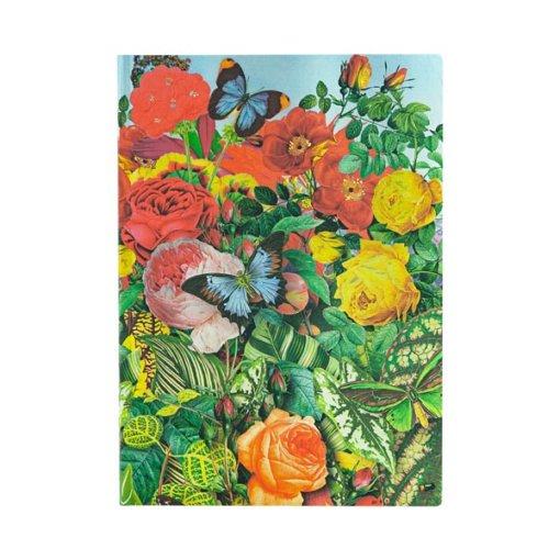 Paperblanks Flexis notitieboek Butterfly Garden Midi