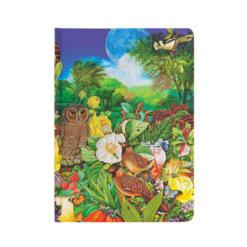 Paperblanks notitieboek Moon Garden Midi