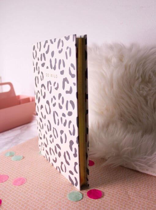 Caroline Gardner Notitieboek - Leopard Print Large 4