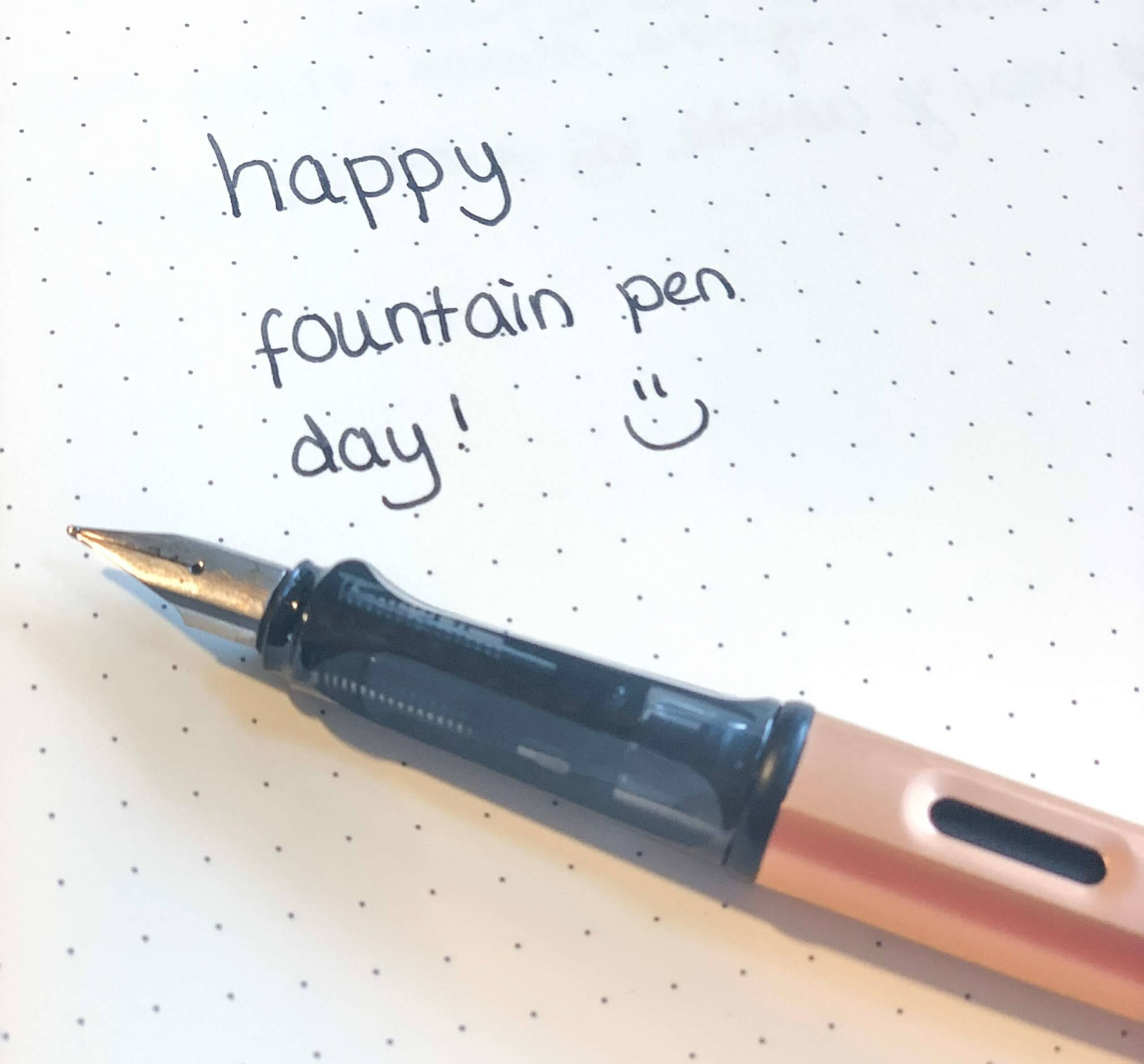 Fountain pen day – dag van de vulpen